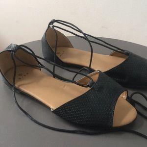 5$ add-on 🛍 Super cute open toe flats 😉 New!
